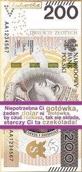 200ZŁ - czekolada mleczna 100g Kukartka