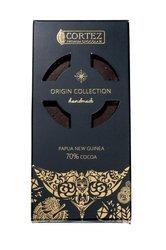 Czekolada ciemna z kwiatem soli morskiej 85g - Single Origin Papua New Guinea 70% Cocoa