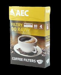 Filtry papierowe do kawy AEC 4