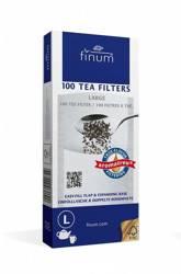 Finum filtry jednorazowe do herbaty L 100szt.