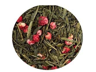 Herbata zielona - Sencha Poziomkowa