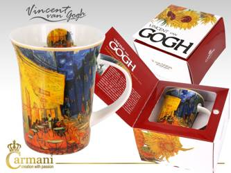 Kubek Van Gogh TARAS KAWIARNI NOCĄ Carmani