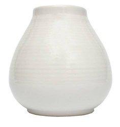 Matero Ceramiczne Pera białe w prążki