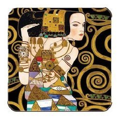 Podkładka korkowa - Gustav Klimt - Oczekiwanie