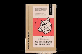 The White Bear Brazylia Guaxupe 1000g kawa  ziarnista