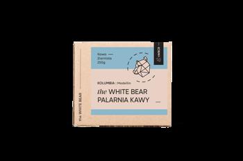 The White Bear Kolumbia Medellin 250g kawa ziarn.