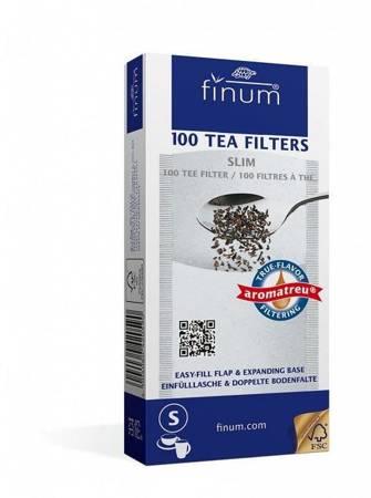 Finum filtry jednorazowe do herbaty S 100szt.