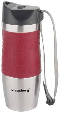 Klausberg kubek termiczny 380ml czerwony