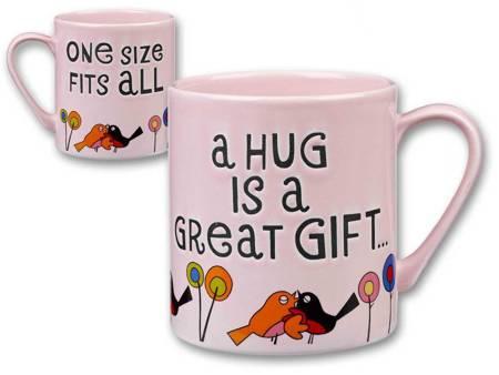 Kubek - A HUG IS A GREAT GIFT... - Churchill