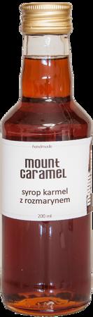 Mount Caramel - syrop karmel z rozmarynem 200ml