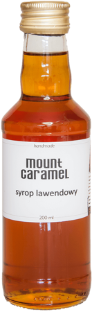 Mount Caramel - syrop lawendowy 200ml