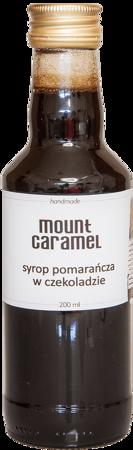 Mount Caramel  - syrop pomarańcza w czekoladzie 200ml