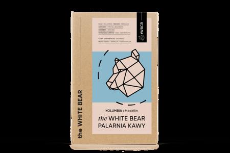 The White Bear Kolumbia Medellin 1000g kawa  ziarnista