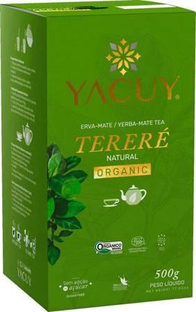 Yerba Mate Yacuy Terere Organic Natural 500g